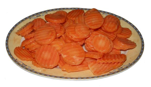 Καρότα φέτες